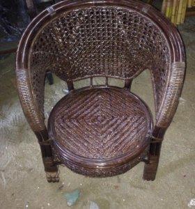 Кресла плетёные