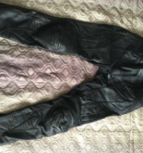 Мотоштаны кожаные Taichi
