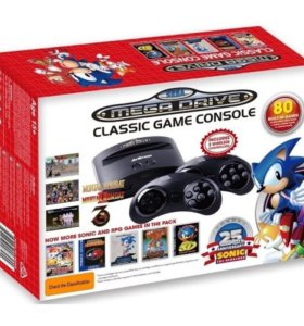 Sega Mega Drive Classic Game Console (80 игр)