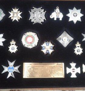 Коллекция копий орденов