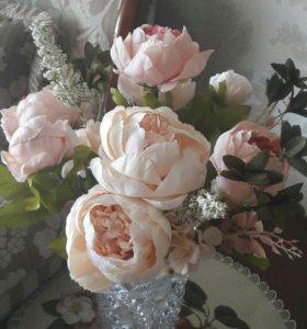 Букет искусьвенных цветов