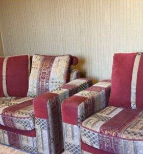 Диван угловой трансформер с креслом