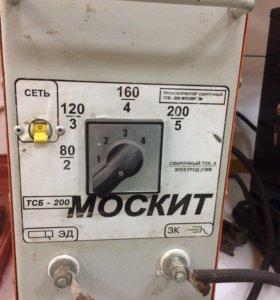Сварочный трансформатор москит тсб-200