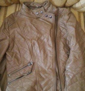 Куртка кожаная. Бесплатно!
