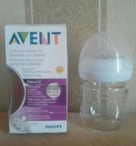 Бутылочка Avent Philips 0+