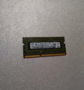 Оперативная память, озу DDR3 SO dimm 1gb