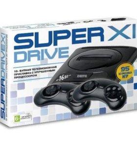 Sega Super Drive 11 + 95 игр