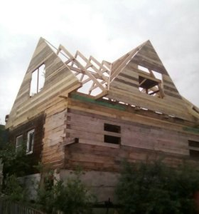 Ремонт крыши.замена и монтаж кровли на новой.