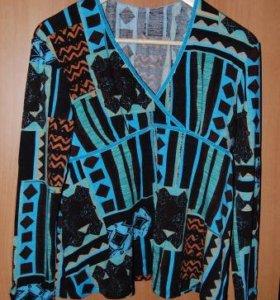 Трикотажная кофта (блузка) для беременных, 44 разм