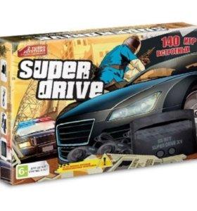 Sega Super Drive GTA + 140 игр