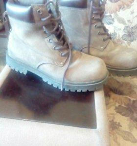 Муж. Осенние ботинки