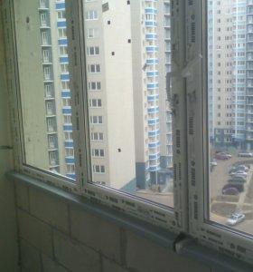 Окна и дверь пвх. Новые.