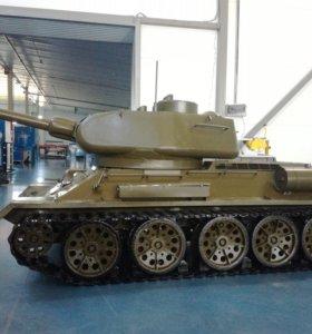 Танк Т 34 ( копия 1/2)