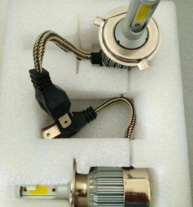 LED Н4 лампочки