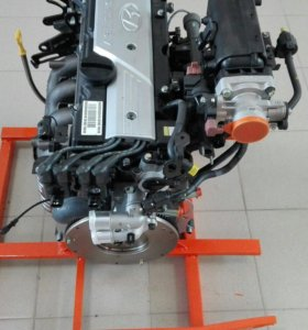 ДВИГАТЕЛЬ Hyundai Accent 1.5/16кл с навесным