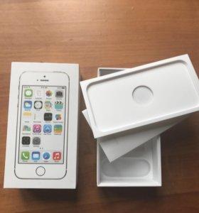 🔝📲 Коробка от айфона 5s gold
