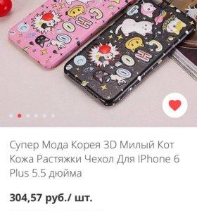 Чехол 3D IPhone 6 Plus