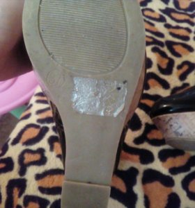 Туфли на плотформе