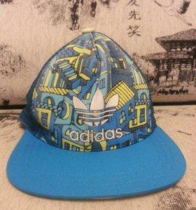 Кепка Адидас Adidas голубая
