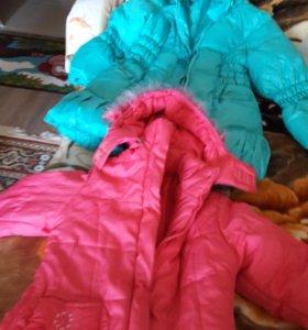 Куртки для девочки 9-11