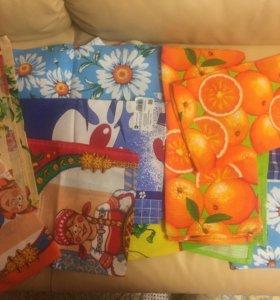 Кухонные полотенца новые