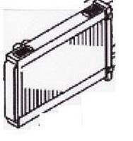 Радиатор печки отопитель салона MK426790