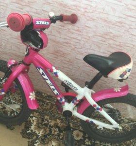 Детский велосипед (stels pilot)