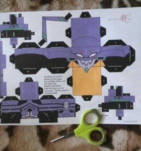 ева 01 (набор вырежи и собери)