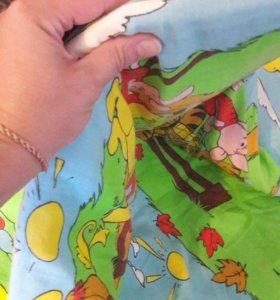 Одеяло детское .гиппоалергенное.