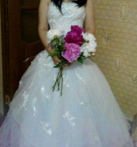 Платье свадебное б\у