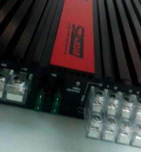 Новый 4 канальный усилитель kicx