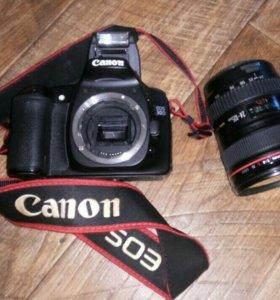 Фотоаппарат Canon 30D и объектив Canon EF 24-105