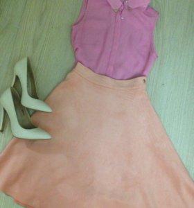 Юбка+блуза