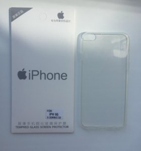 Стёкла защитные iPhone 6/6s