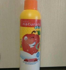 Детский спрей для облегчения расчесывать волос