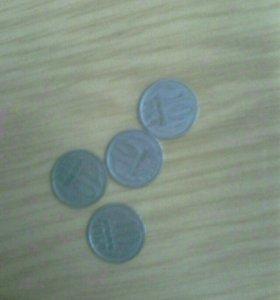 Монета СССР 10 копеек 1969