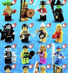 Лего минифигурки серия 2