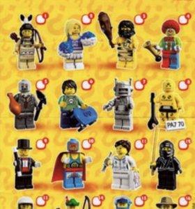 Лего минифигурки серия 1
