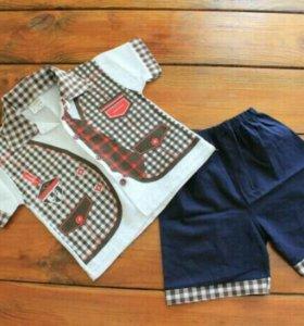 Рубашки и шорты, р.92