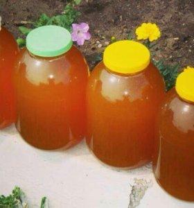 Мед цветочный, разнотравие