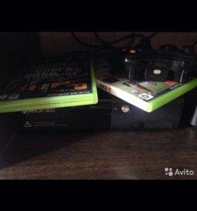 Х-Box360 + кинект,500гб