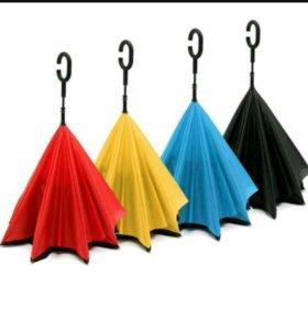 Зонты наоборот(умный зонт)