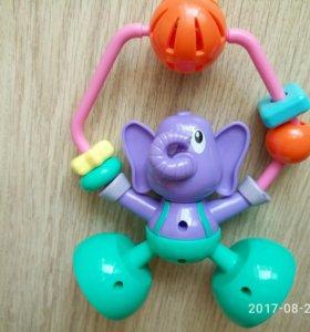 Погремушка слоник