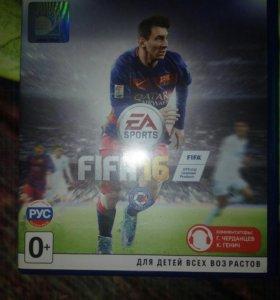 Игра ps4 FIFA 16