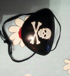 Пиратская повязка для детей