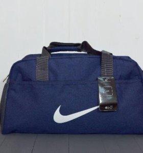 Синяя сумка Nike