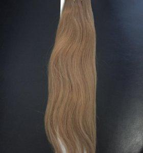 Волосы на трессах новые, капсуляция, наращивание