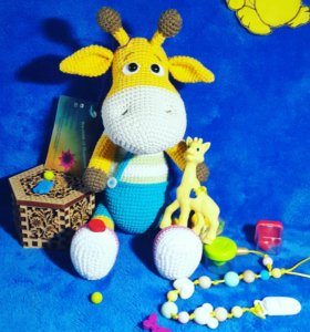 Вязаная мягкая игрушка