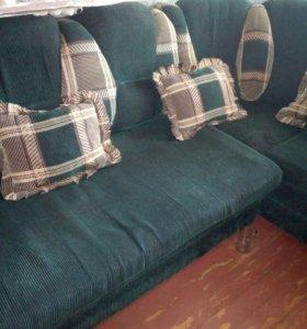 угловой диван+кресло(срочно)