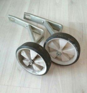 Колеса боковые на велосипед